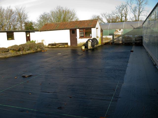 Cleared Hardstanding December 2012