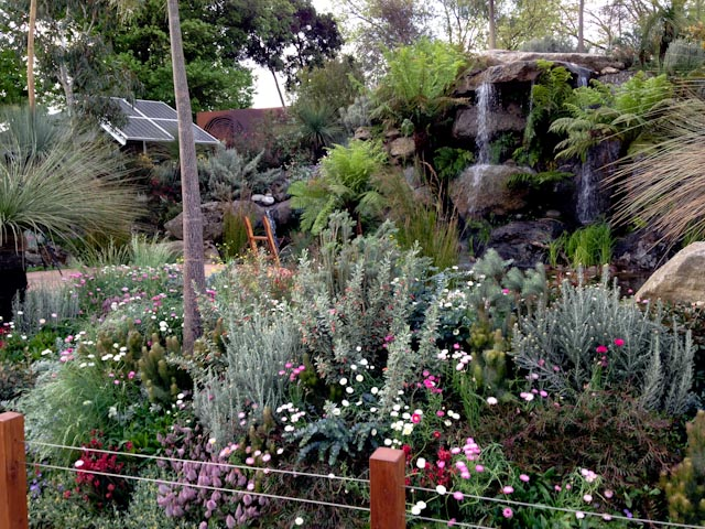 Fleming's nurseries the  Trailfinders Australian Garden awarded best Show Garden