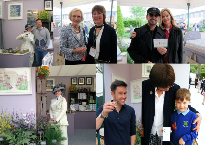 Monday at  the Chelsea Flower Show